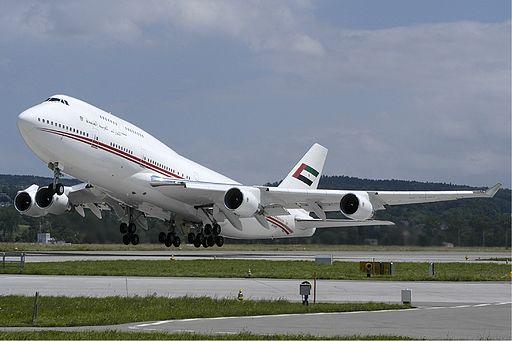 Dubai Air Wing Boeing 747-400 Wallner