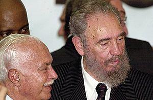 Español: Fidel Castro en Brasilia