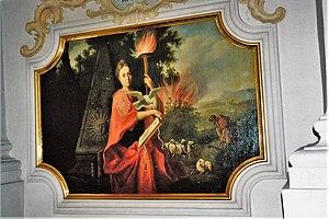English: Church of the Holy Spirit in Munich -...