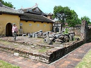 English: Hue, Vietnam - The Citadel - Royal En...