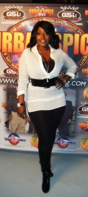 English: KiKi Richardson at the Urban Spice Ma...