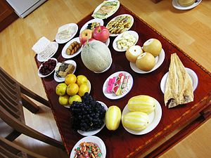 Ceremonial Chuseok Food