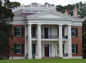 Picture of the antebellum home Melrose in Natc...