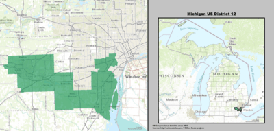 Michigan US Congressional District 12 (since 2013).tif