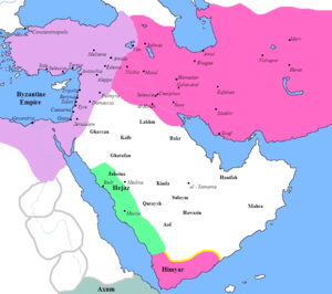 Arabian tribes before the rise of islam