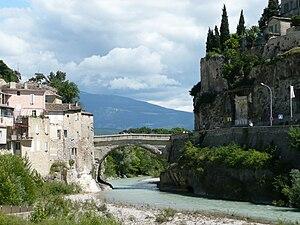The Roman Bridge at Vaison-la-Romaine, Vauclus...