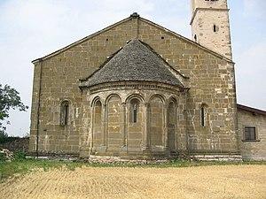 San Giorgio in Lemine, chiesa romanica.