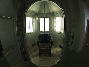 English: The Gas Chamber at New Mexico Peniten...