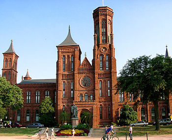 Smithsonian Institution Building or The Castle...