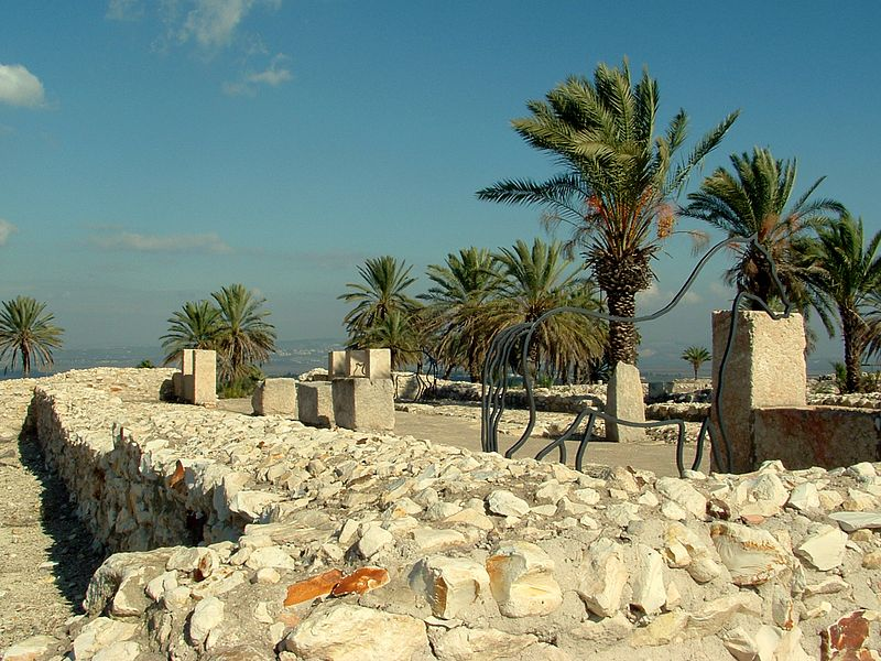 File:Tell Megiddo Preservation 2009 037.JPG