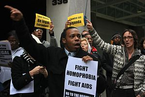 The AIDS Coalition to Unleash Power, a group a...