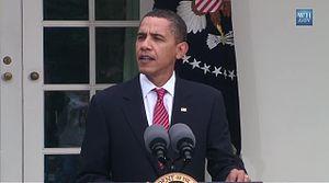 President Barack Obama discusses the bid for C...