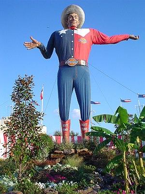 Big Tex, mascot of the State Fair of Texas (Da...
