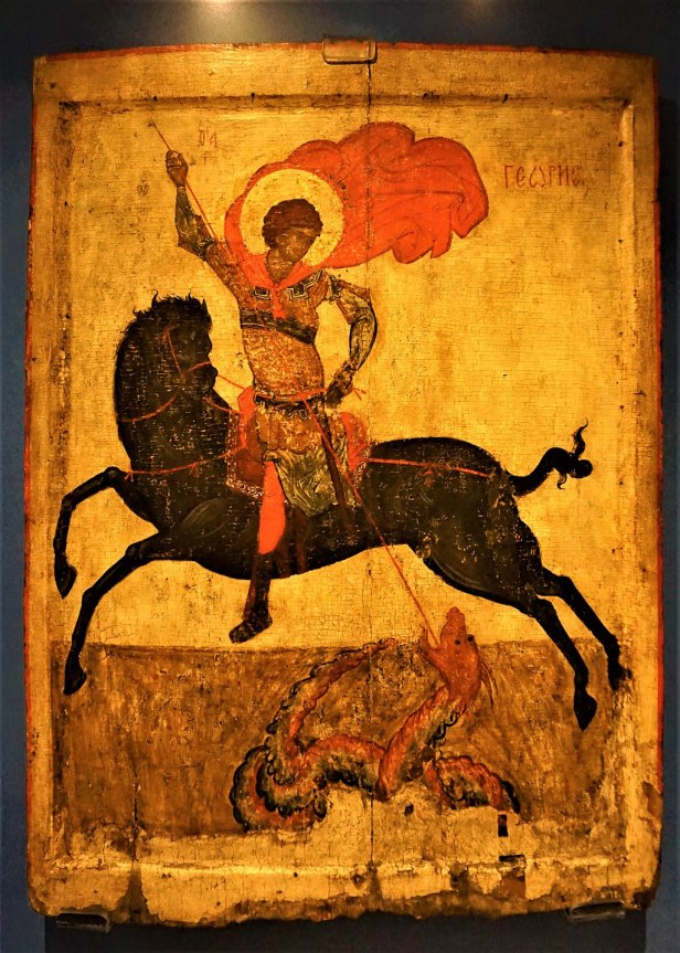 Black St George Icon - Joy of Museums