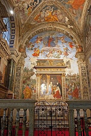 Carafa chapel, Santa Maria sopra Minerva in Ro...
