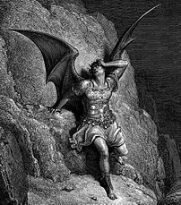Lucifer, the main protagonist of Paradise Lost...