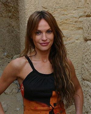 English: Jolene Blalock in Cairo