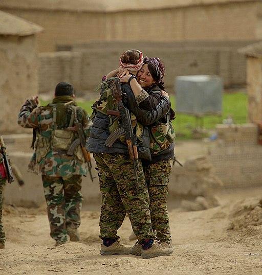 Kurdish YPG Fighters (16050762203)