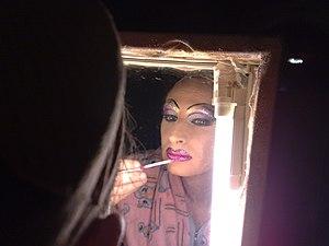 English: Lorella Sukkiarini (italian drag quee...