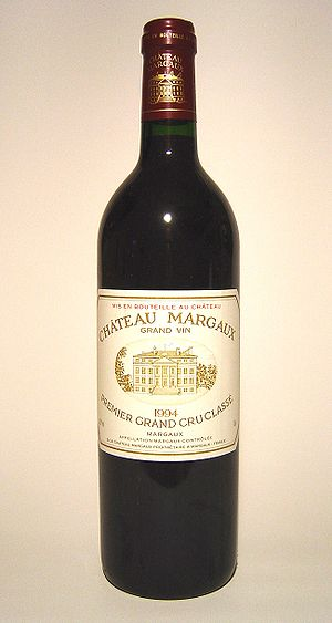 Château Margaux, a First Growth from the Borde...