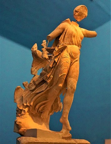 Nike of Paionios - Archaeological Museum of Olympia
