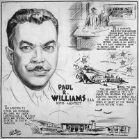 Black History: Paul R. Williams, First African-American Member of the AIA, FAIA (1894 - 1980)