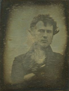 First Ever Photographic Selfie by Robert Cornelius