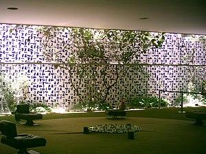 Salão Verde do Congresso Nacional Brasileiro.