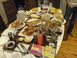 smörgåsbord), Swedish buffet