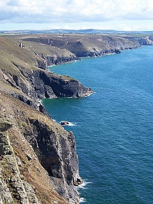 English: Tubby's Head & Chapel Porth Walking t...