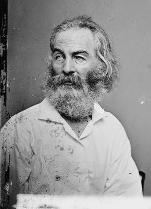 Walt Whitman. Library of Congress description:...