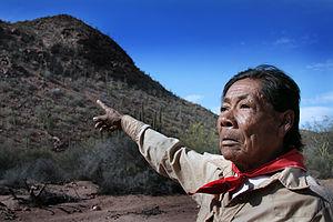 Chapito, a Seri shaman from Punta Chueca, Sono...