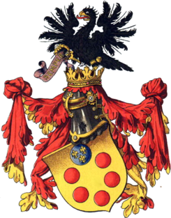 Coat of arms of the House of de' Medici.png