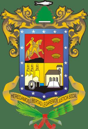 Español: Escudo de armas del estado de Michoac...