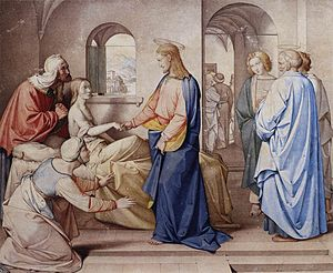 Friedrich Overbeck - Christ Resurrects the Dau...