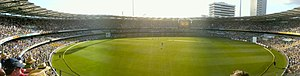The Brisbane Cricket Ground (the GABBA) the 2n...