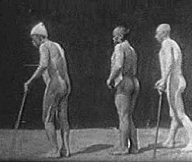 Frame From One Of Marinescus Science Films 1899