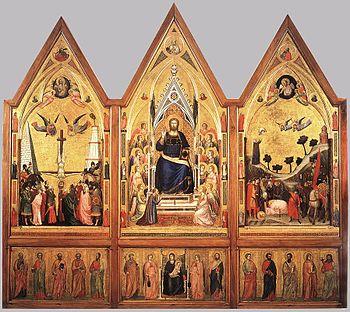 Giotto di Bondone - The Stefaneschi Triptych (...