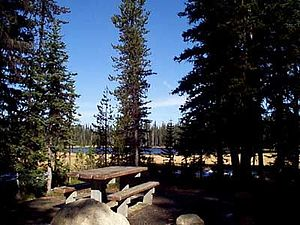 Grande Ronde Lake Campground in Wallowa-Whitma...