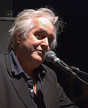 The author Henning Mankell lecturing at Parkte...