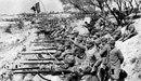 Італійські війська в окопах вздовж річки Ізонцо