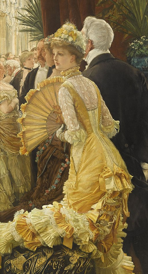 """""""The Ball"""" by James Tissot"""