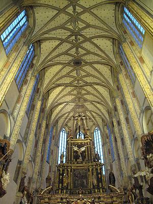 Česky: Kostel Panny Marie Sněžné, Noc kostelů 2011