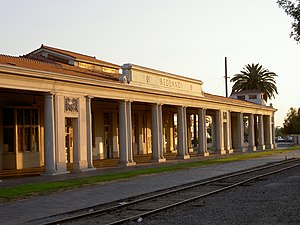 Redlands, California train station.