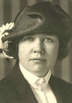 Rose Wilder Lane, journalist and writer, daugh...