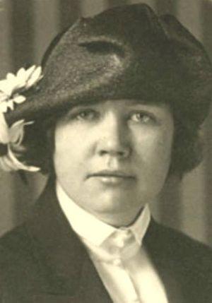 Rose Wilder Lane, journalist and writer, daugh...