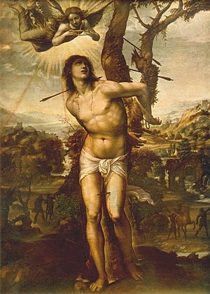 Saint Sebastian (d. 288), fictionalized portra...