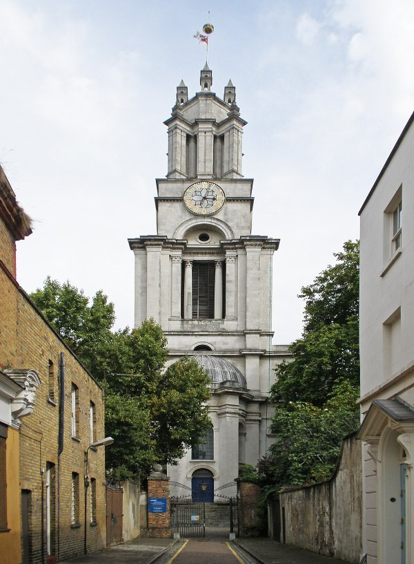St Anne's Limehouse - Wikipedia