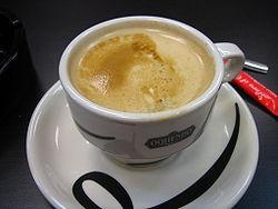 Café con leche from Asturias, Spain
