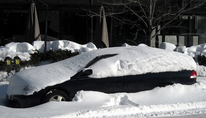 File:Car covered in snow.JPG